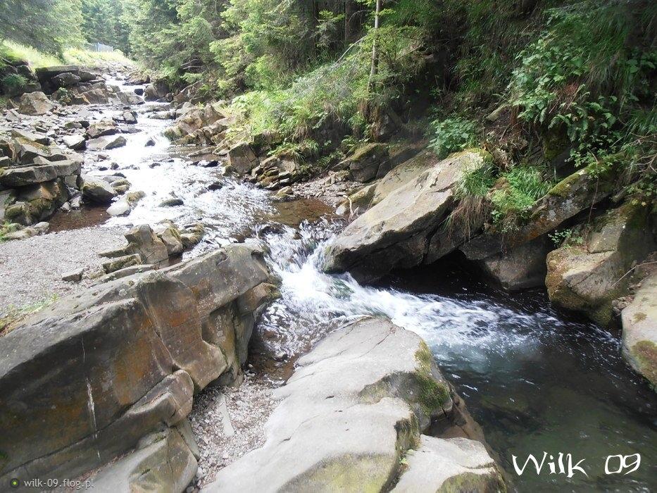 Górski Potok w Gorczańskim Parku Narodowym