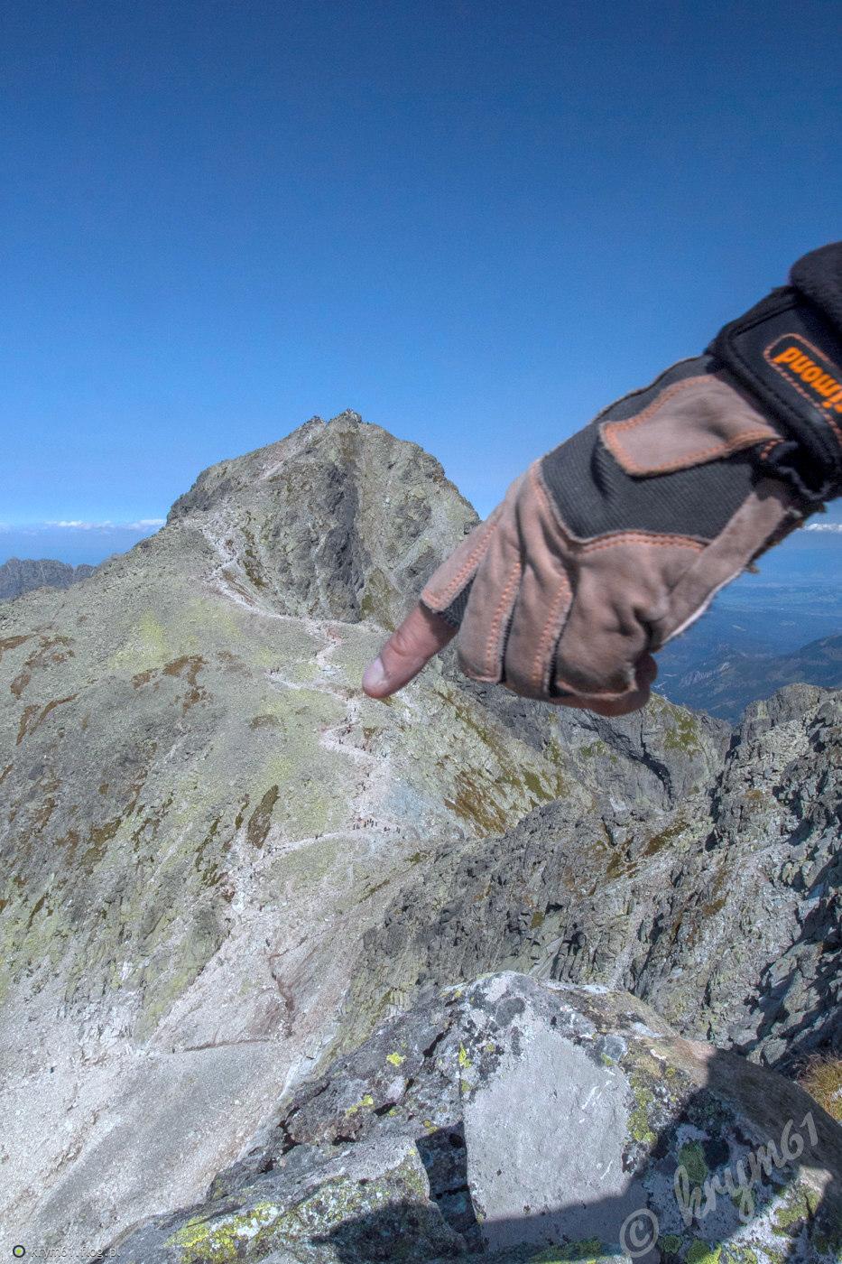 Szlak na Rysy 2503 m n.p.m. - Słowacja
