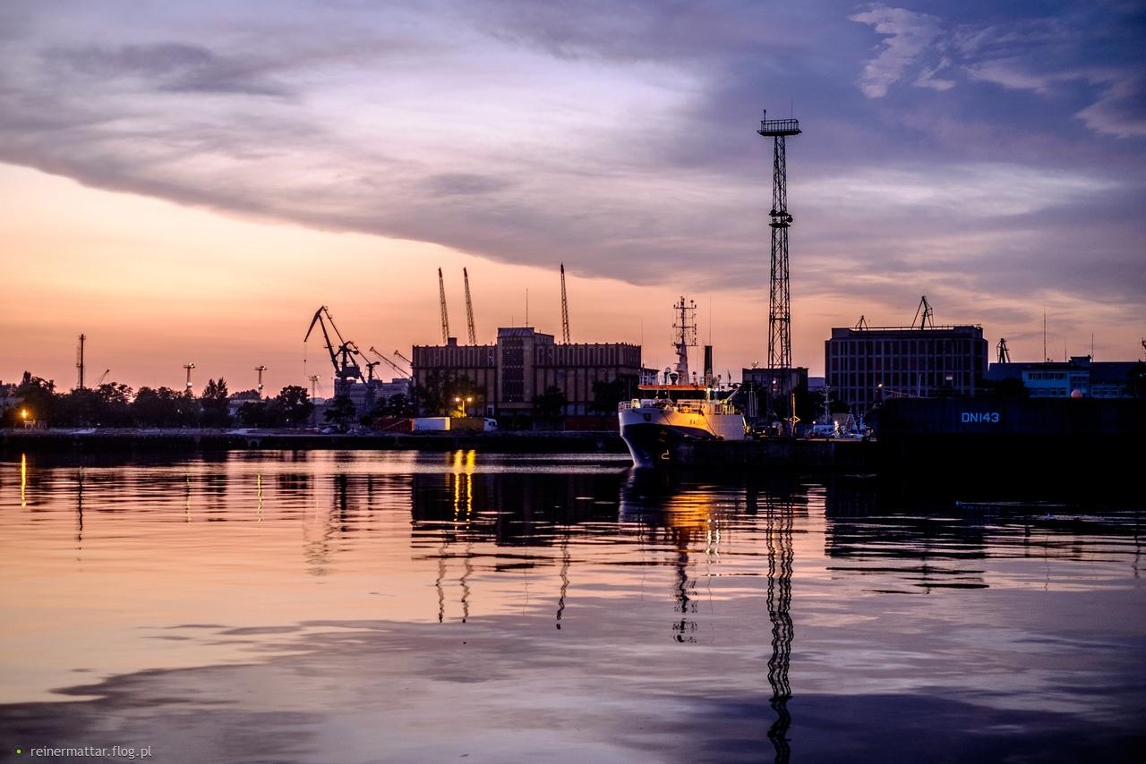 Gdynia by night :) - jeszcze raz...