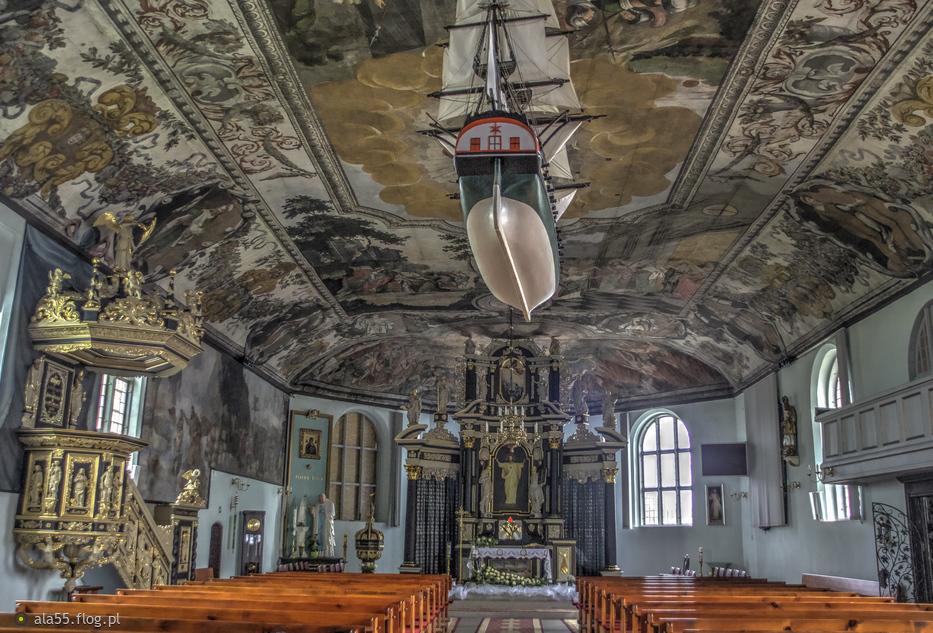 Kościół Najświętszego Serca Pana Jezusa w Stegnie :)