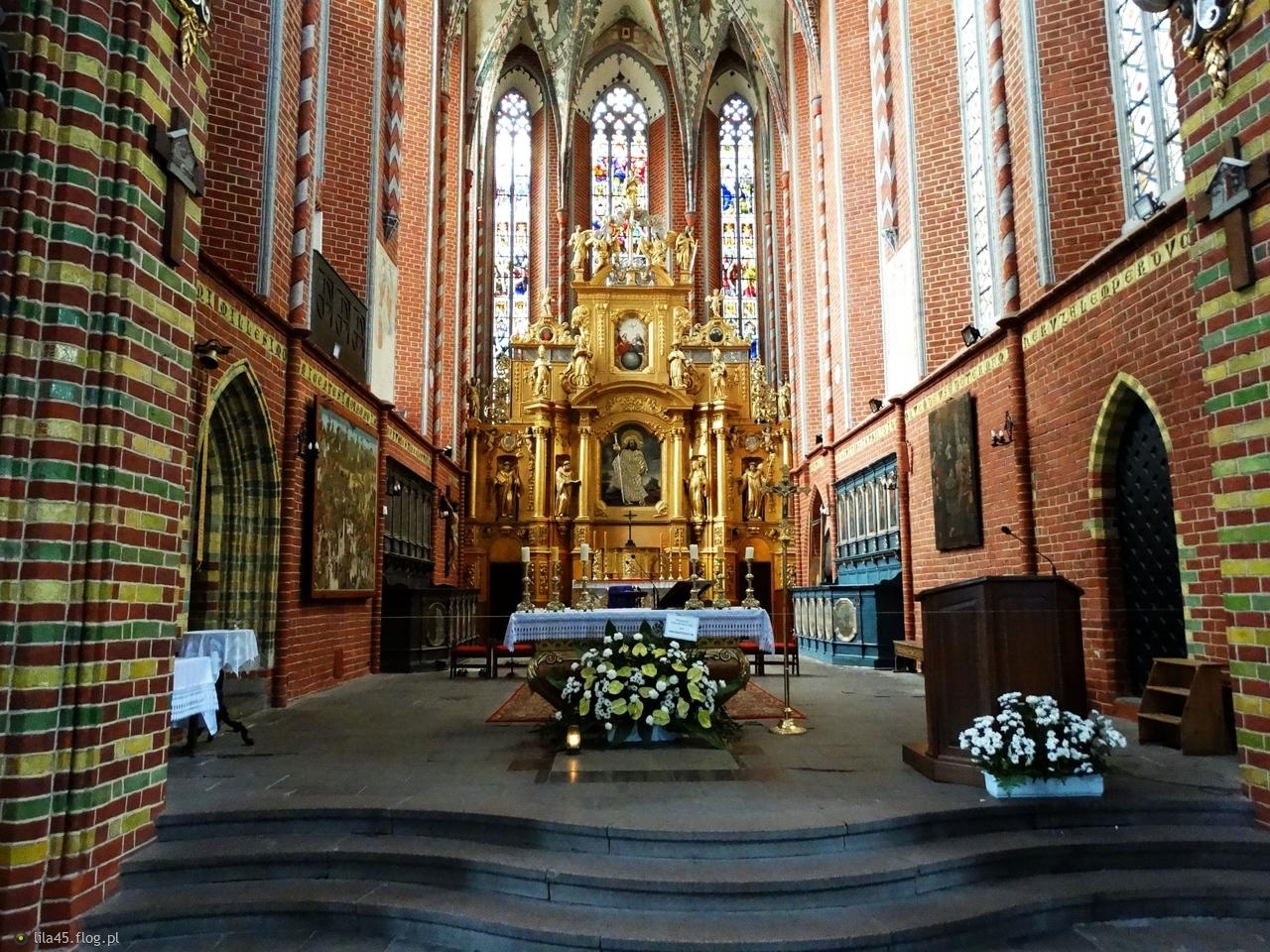 Kościół św.Jakuba Apostoła z XIVw  w Toruniu....słonecznej niedzieli życzę:)