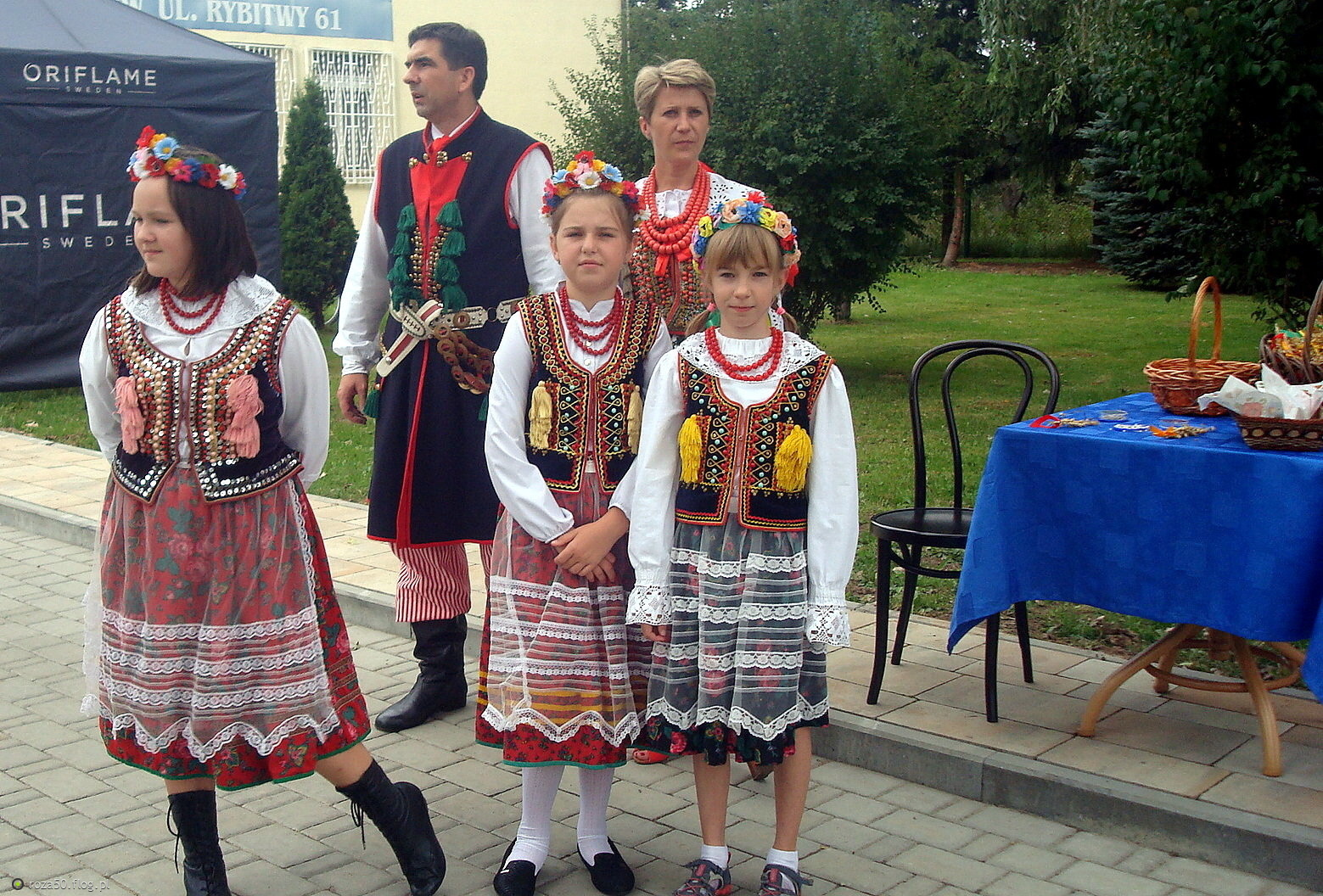 Dożynki w Rybitwach -  Podgórze Rada Dzielnicowa XIII Krakowa