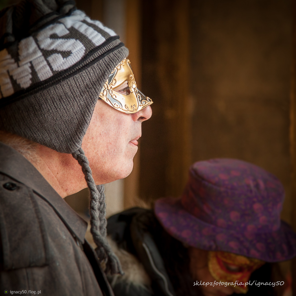 Wenecki portret w czapce