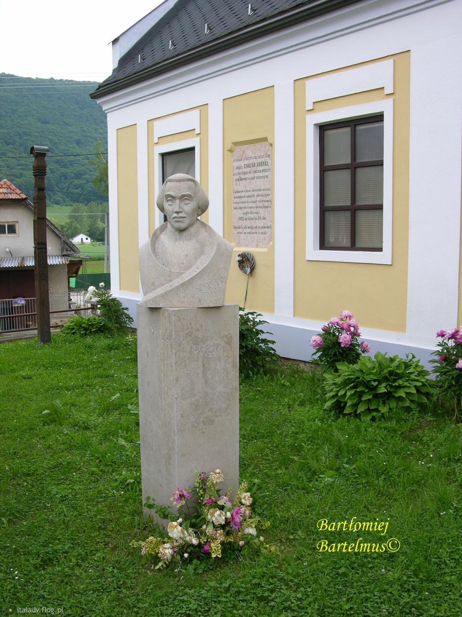 Jovice, Pamätník a dom Ondreja Cházára (1745-1816), 1.06.2017.