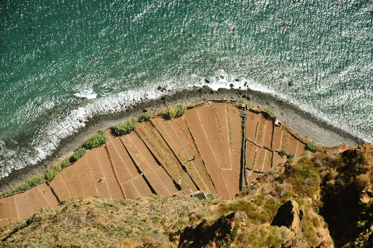 Widok z klifu Cabo Girao:)