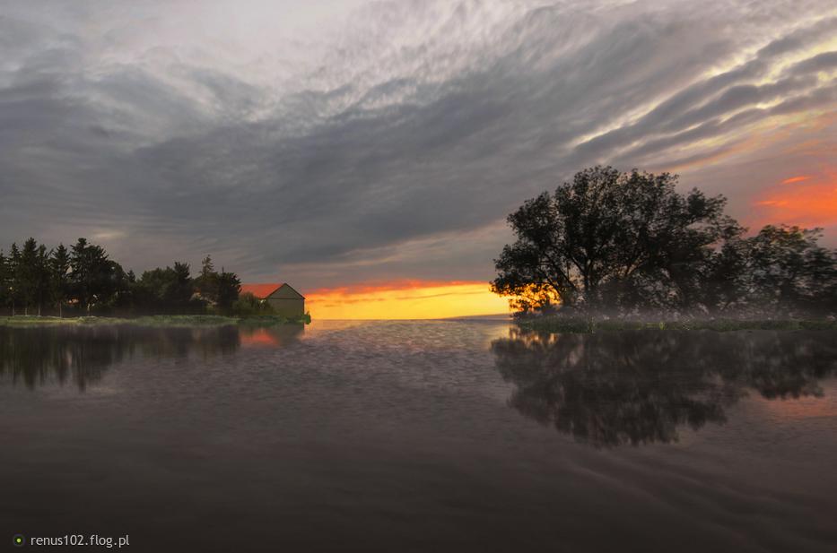 """""""Jak dobrze wstać skoro świt, jutrzenki blask duszkiem pić......."""