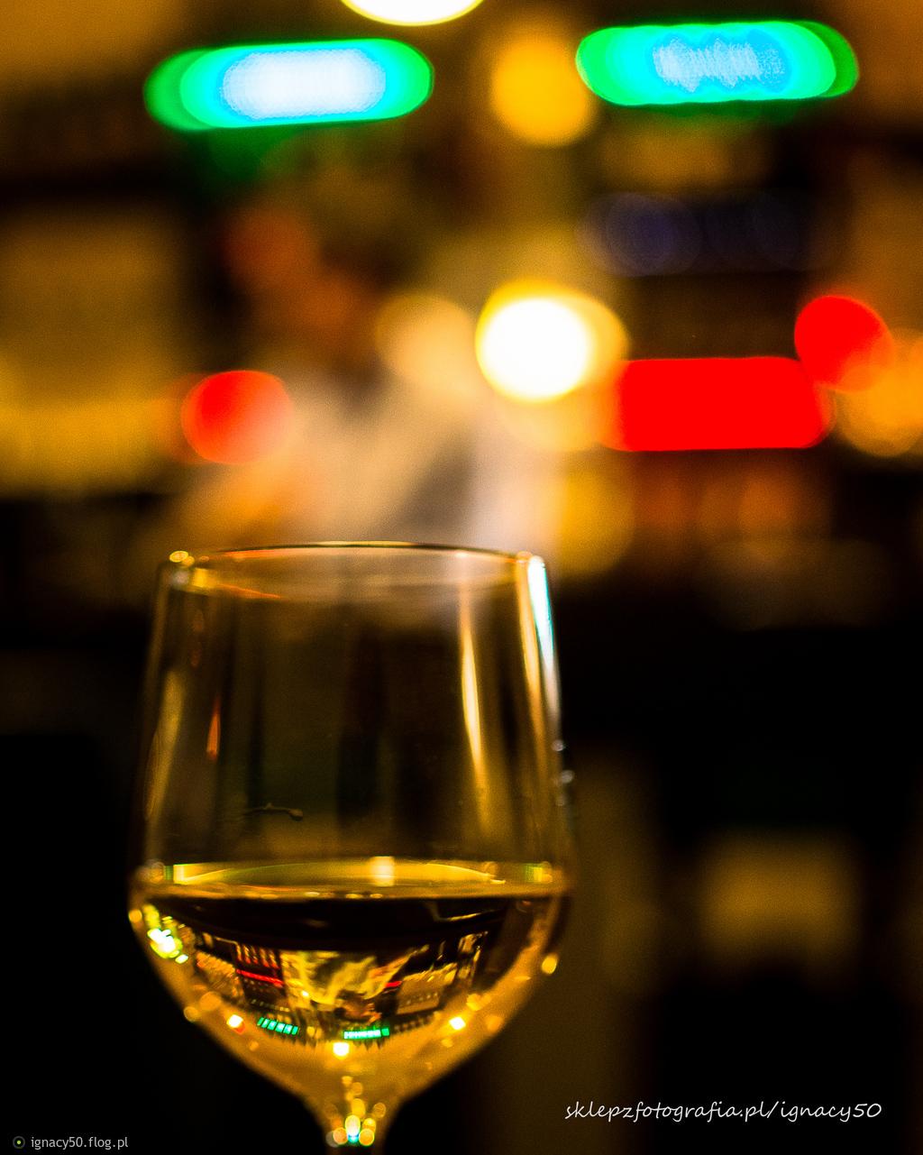 portret włoskiego właściciela baru