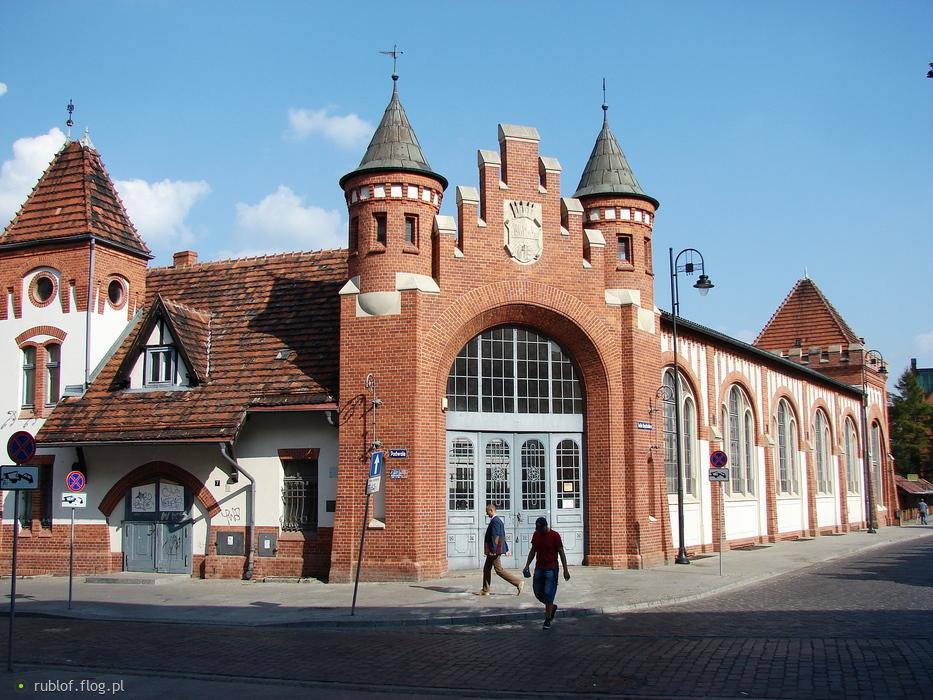 Zabytkowa hala targowa w Bydgoszczy dla Cioebie z pozdrowieniami