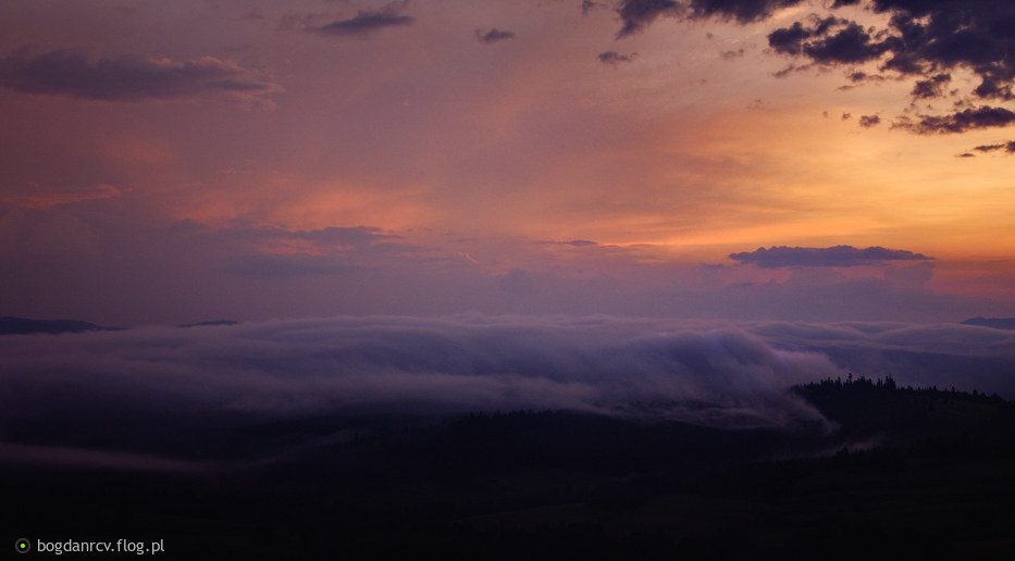 mgły o świcie...