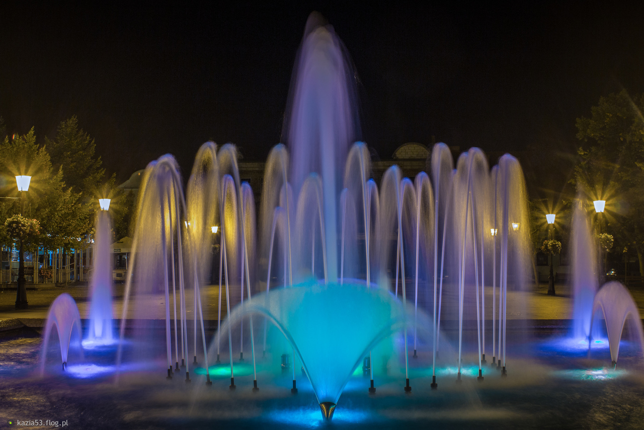 Kolorowa fontanna :-)