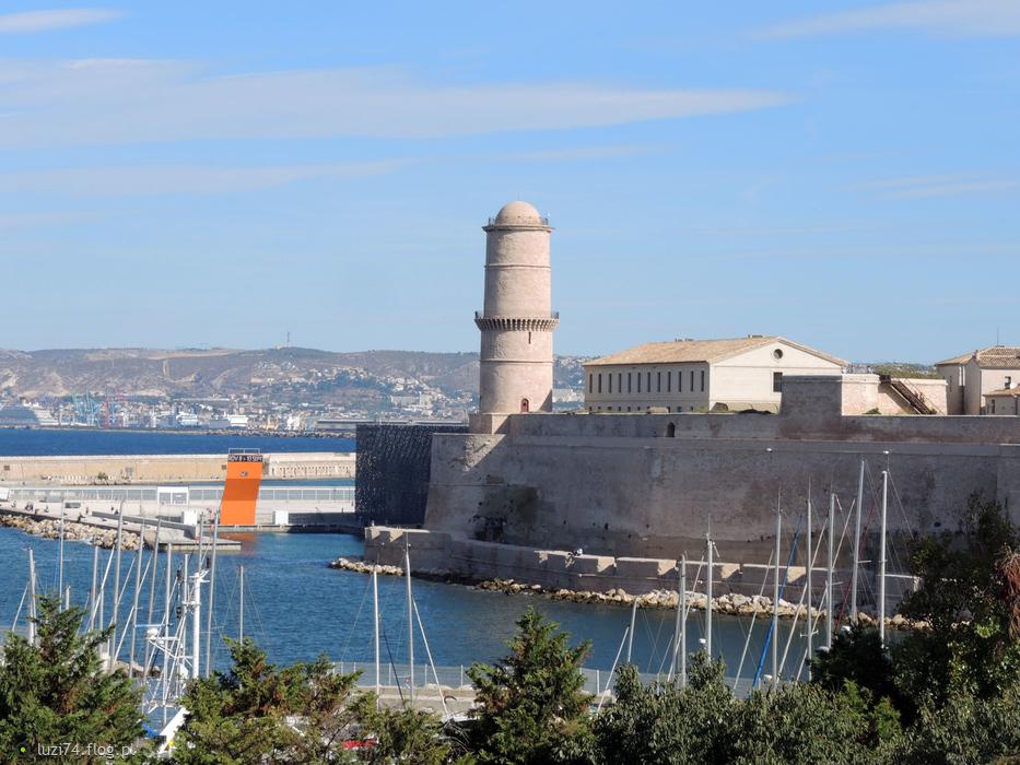 Marsylia Fort Saint-Jean