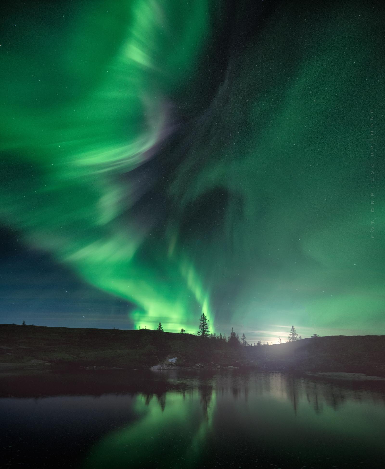Niesamowity spektakl natury