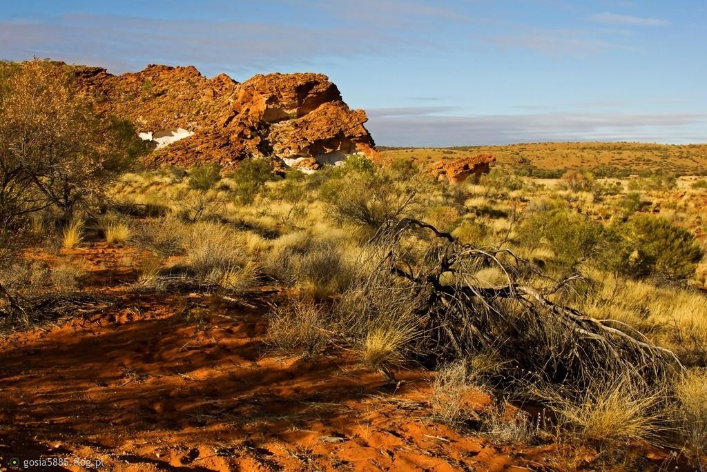 Dolina Tęczowa w Terytorium Północnym Australii - pozdrawiam cieplutko. :))))