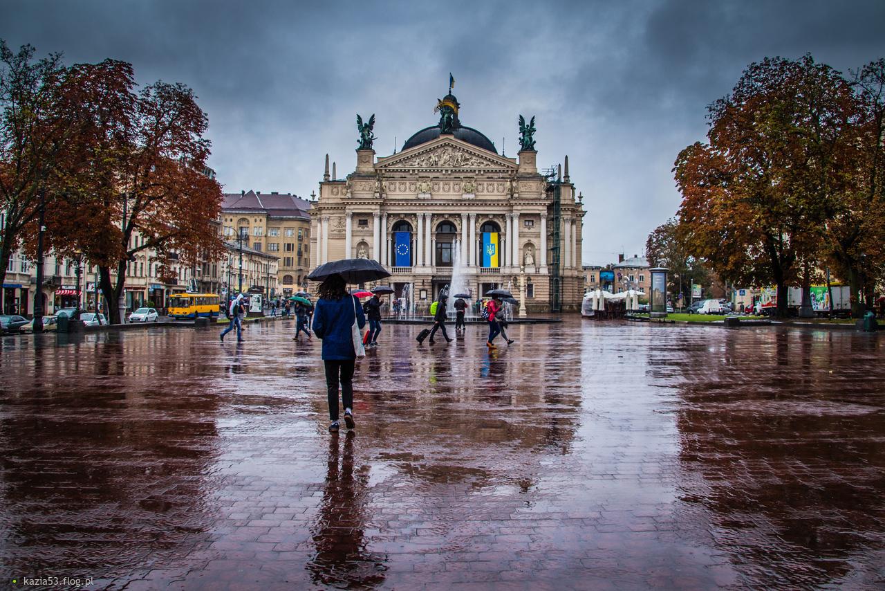 Śpiewam i tańczę w deszczu... ;-)
