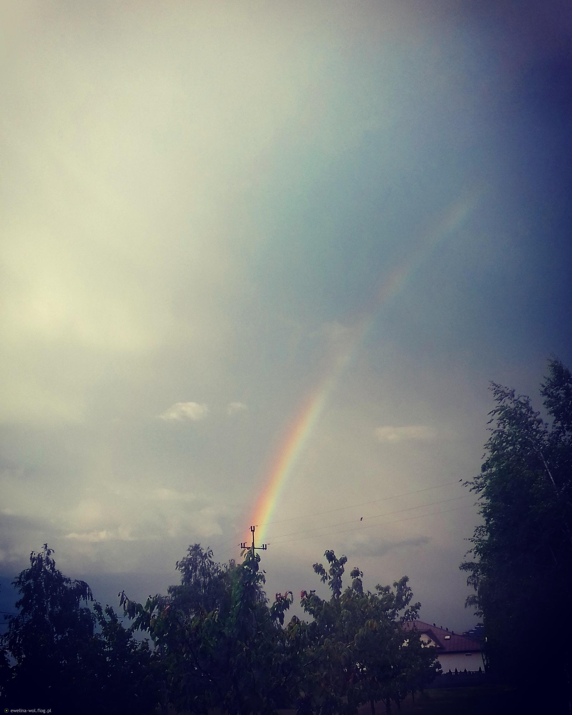 Po burzy zawsze wyjdzie tęcza :)
