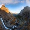 Trollstigen :: Jedno z miejsc do których<br /> lubię wracać Jedno z mie<br />jsc piękniejszych w Norwe<br />gi Po raz pierwszy u�