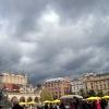 Deszczowe chmury nad krak<br />owskim Rynkiem