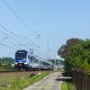 ED160-003 :: Flirt, na pełnej prędkośc<br />i szlakowej, jako pociąg <br />do Gdyni Głównej wjeżdża <br />do Gdańska.   16