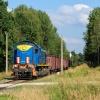 TEM2-188 :: 14.08.2017. TEM2-188 zbliża się do semaforów wjazdowych stacji w Kotlarni, jadąc szlakiem od strony