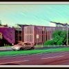 Bydgoszcz.Stare miasto. N<br />owoczesny parking oraz mu<br />r architektonicznie nawią<br />zujący do murów obronnych<br /> z których został niestet<br />y tylko fragment