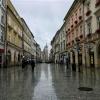 deszczowy Kraków