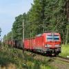 X4EC-042 :: 16.08.2017. Szlak: Biała Pajęczańska - Brzeźnica nad Wartą, linia D29-146. Vectron ze składem ładown