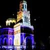 Light Move Festival 2017 <br />- siódma już edycja Festi<br />walu Światła w Łodzi--Sob<br />ór św. Aleksandra Newskie<br />go.