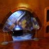 W taki wieczór najlepiej <br />przy kominku. :: Kominek w Casa Batllo, wi<br />lli według projektu A.Gau<br />diego