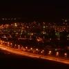 Nocny widok na Bielawę