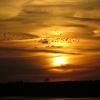 Dolina Baryczy o zachodzi<br />e słońca:)