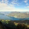 Niederbauen Chulm :: Widok na Jezioro Czterech<br /> Kantonów