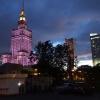 Warszawa wieczorem