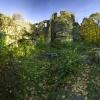 Ruiny zamku Cisy :: Bardzo ciekawe i malownicze ruiny położone niedaleko zamku Książ. Ta fotografia to dla mnie powrót d