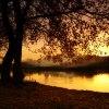 Zachód słoneczka z okolic<br /> Krakowa:)