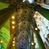 Trudno oddać prawdziwe pi<br />ękno tych sklepień na zdj<br />ęciach, ale starałam się.<br />...Katedra Sagrada Famili<br />a.