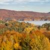 Solińska jesień :: Jesień nad Jeziorem Solińskim, Bieszczady 2017