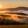 Chce się żyć :: Dzisiejszy wschód słońca na Rzepedce, Beskid Niski.