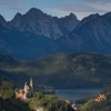 Za górami,za lasami... :: 1.Zamek Neuschwanstein położony jest w Alpach w południowej części Bawarii.To jeden z najsłynniejszy