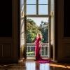 Marta w Sali Kryształowej
