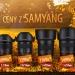 Promocja Samyang :: Samyang rozszerzył ofertę<br /> obiektywów biorących udz<br />iał w promocji rozpoczęte<br />j z początkiem wrz