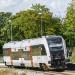 SA133-026 :: Szczurobus, jako pociąg r<br />elacji Gdynia Główna Hel,<br /> rusza z przystanku Swarz<br />ewo.   16.09.2017 r. G