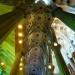 Trudno oddać prawdziwe piękno tych sklepień na zdjęciach, ale starałam się....Katedra Sagrada Familia.