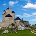 Królewski zamek Bobolice.